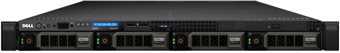 Dell KACE K2000 Systems Deployment Appliance