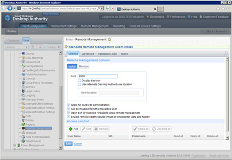 Dell KACE Desktop Authority Management Suite