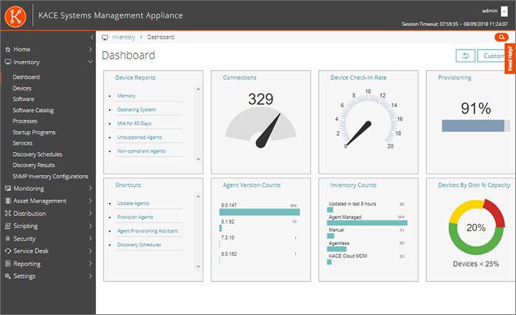 Quest KACE Systems Management Appliance | DeployandManage com